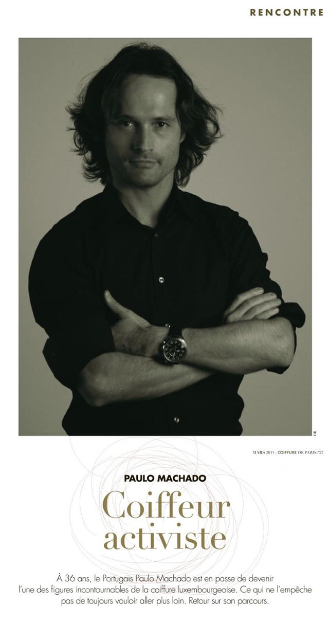 Paulo Machado Coiffeur Activiste - Coiffure de Paris