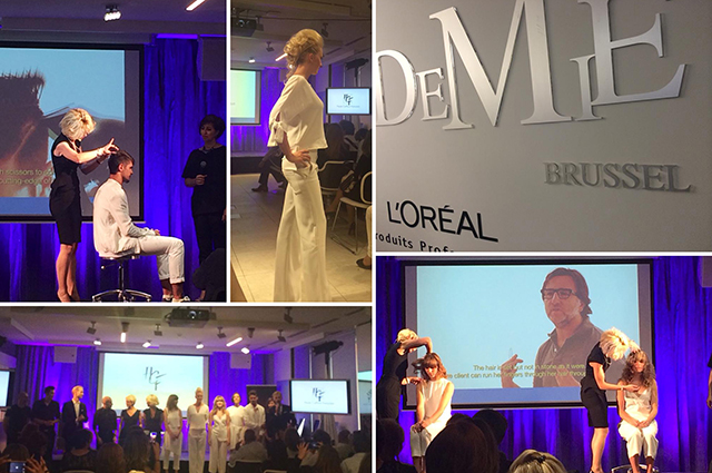 Paulo Machado at L'Oréal Professionnel Education Belgilux