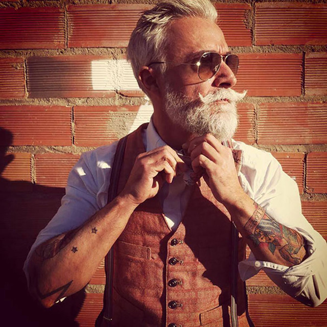 Tattoo, beard & age
