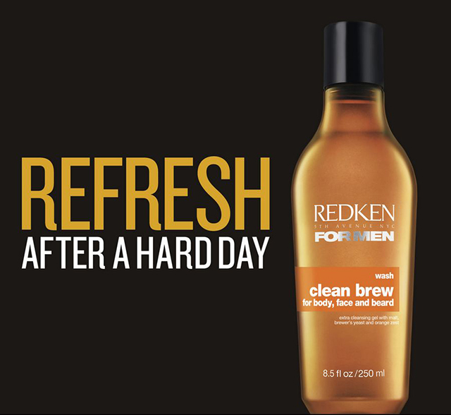 Redken Clean Brew Face Body Beard