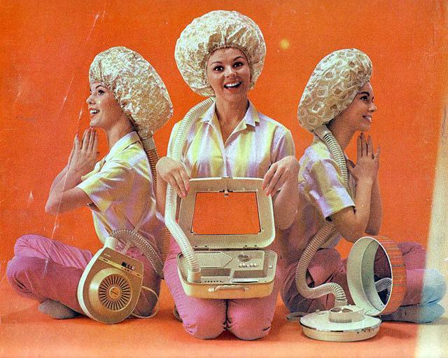 Vintage Hair Equipment