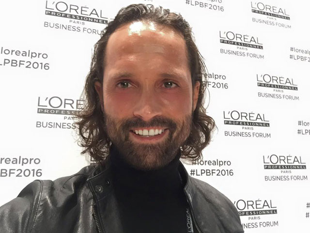 Paulo Machado at L'Oréal Professional Business Forum 2016