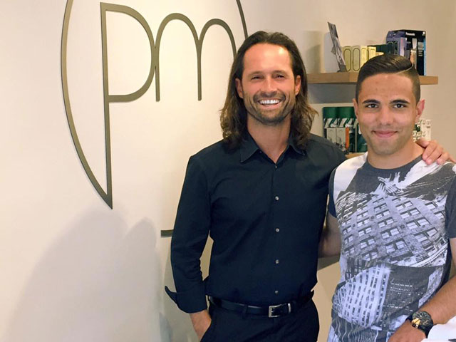Paulo Machado with Dylan Pereira