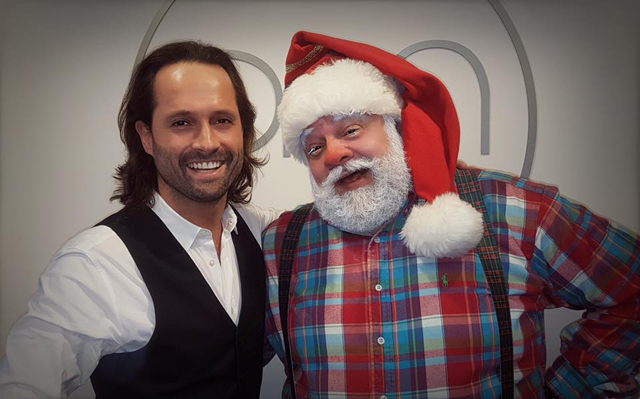 When Santa needs a hairdresser